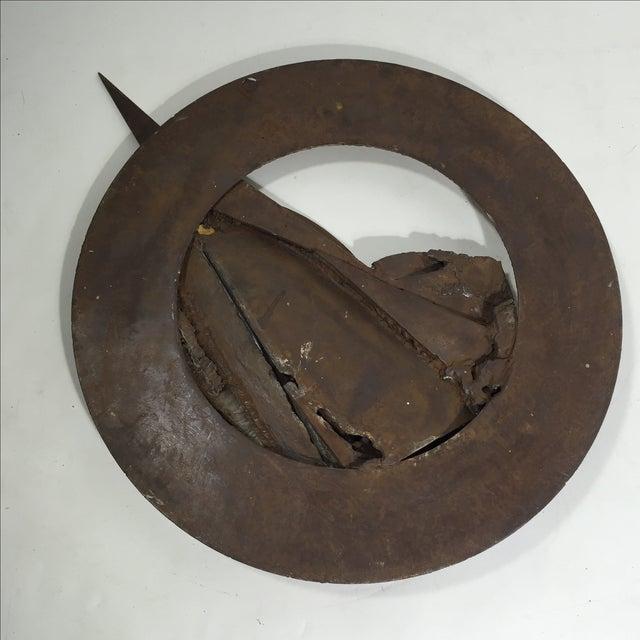 Brutalist Sculpture 1960 Iron - Image 9 of 11
