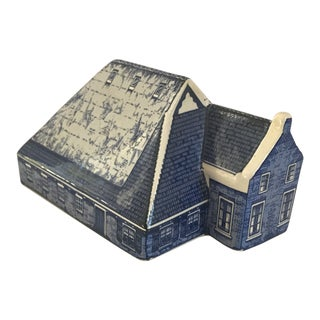 Delft Handpainted Farmhouse For Sale