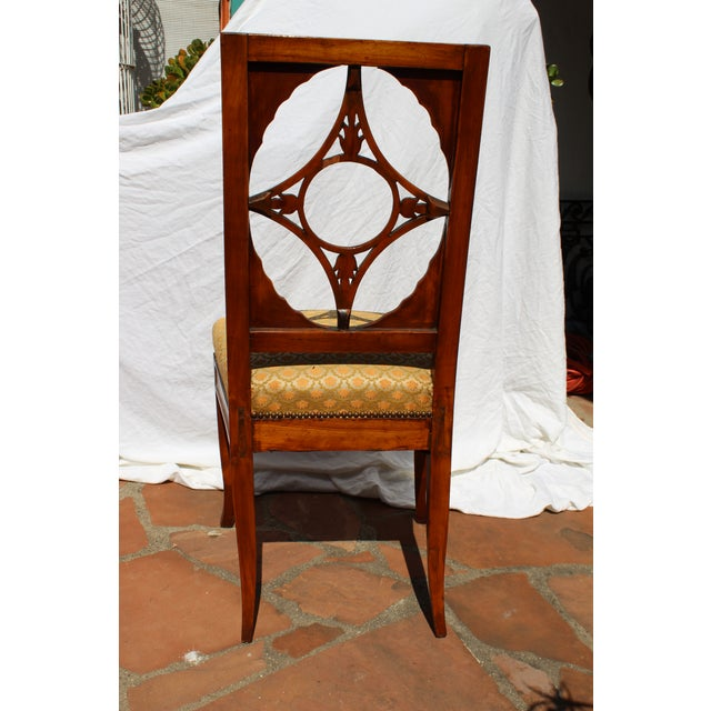 Early 19th Century Russian Neoclassical Side Chair For Sale - Image 5 of 7