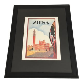 """Contemporary Framed """"Torre Del Mangia"""" Italian Archival Print For Sale"""