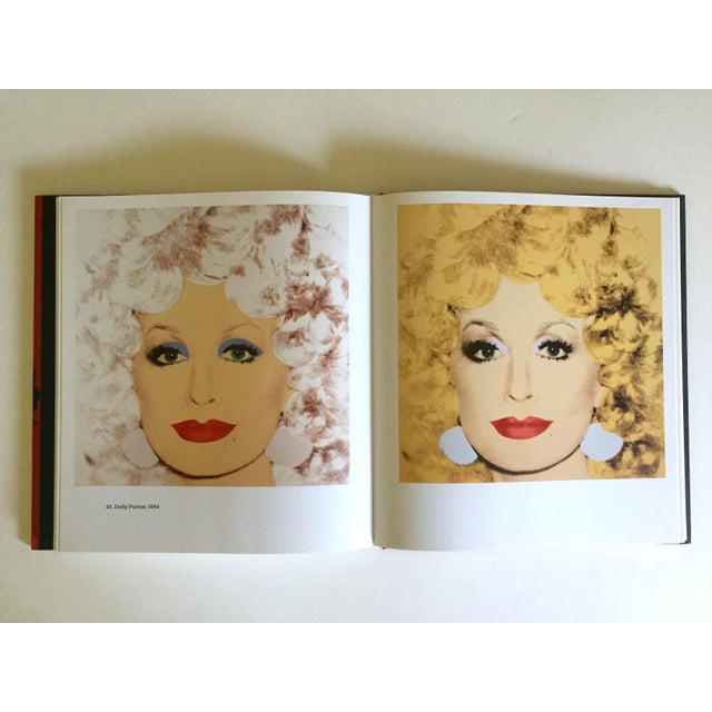 """Cardboard """" Andy Warhol Portraits """" Rare 1st Edtn Vintage 1993 Iconic Collector's Volume Hardcover Book For Sale - Image 7 of 13"""