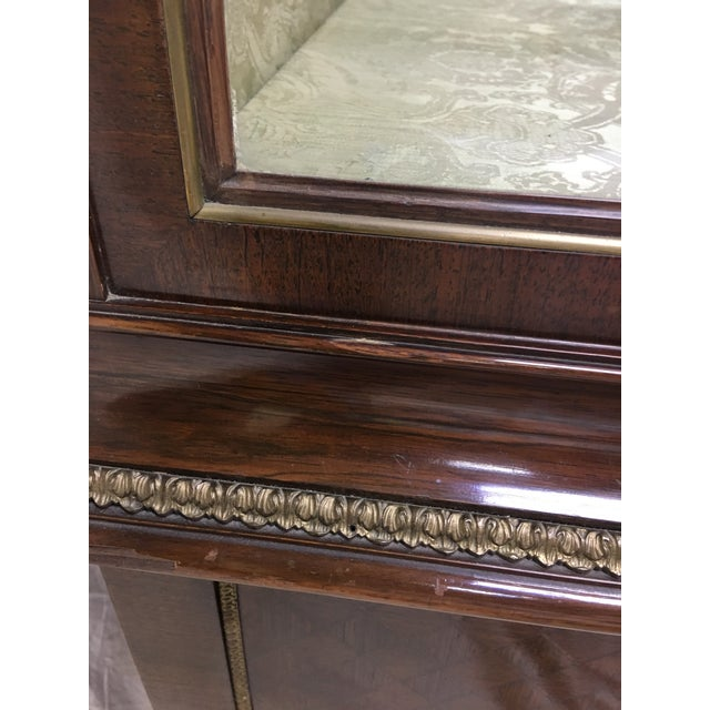 1970s Napoleon III Empire Style Cabinet For Sale - Image 12 of 12