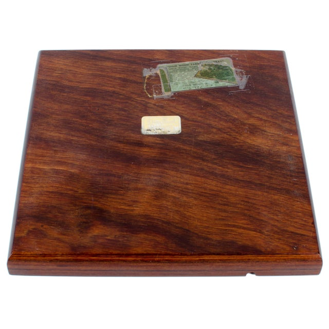 Mid Century Modern Shur Wood Designs Target Ash Tray Chairish