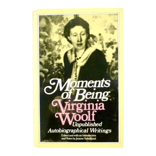 """Moments of Being"" Unpublished Book by Virginia Woolf For Sale"