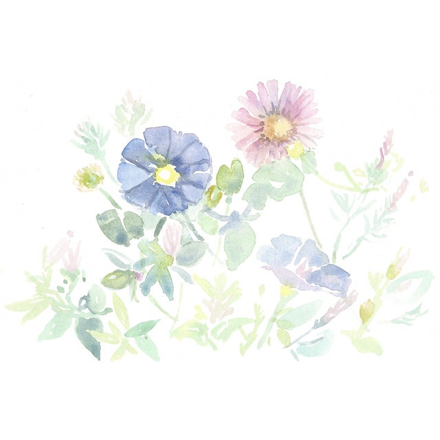 Original watercolour painting spring flowers chairish original watercolour painting spring flowers for sale mightylinksfo