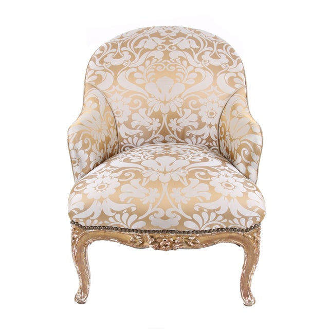 French Antique Napoleon III Armchair - Image 2 of 7