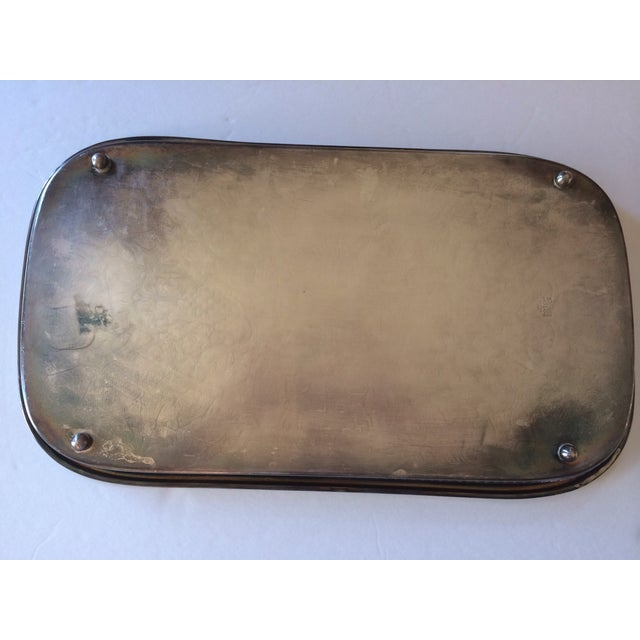 Silver Gallery Rectangle Tray - Image 5 of 6