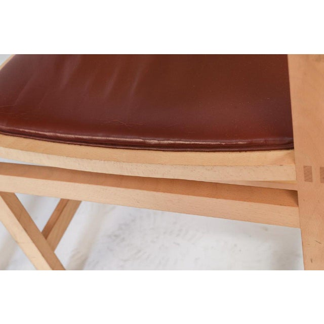 Mid 20th Century Rud Thygesen and Johnny Sarensen for Botium Chairs - a Pair For Sale - Image 5 of 13