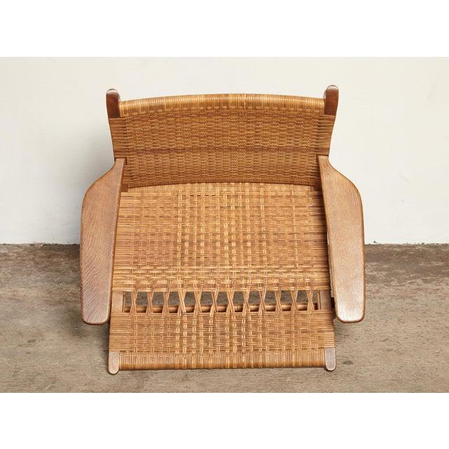 Hans Wegner Ch-27 Chair, Carl Hansen & Son, Denmark, 1950s For Sale - Image 10 of 11