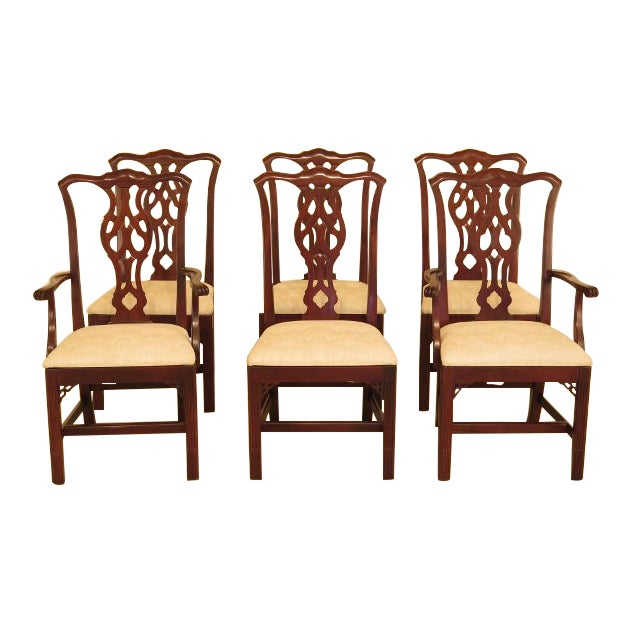Ethan Allen Dining Room Sets: Ethan Allen Knob Creek Chippendale Cherry Dining Room