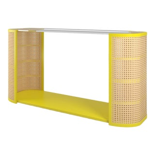 Lola Console Table - Citron For Sale