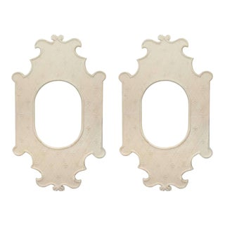 French Plaster Frames - A Pair