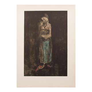 1959 Mother & Child Picasso Lithograph