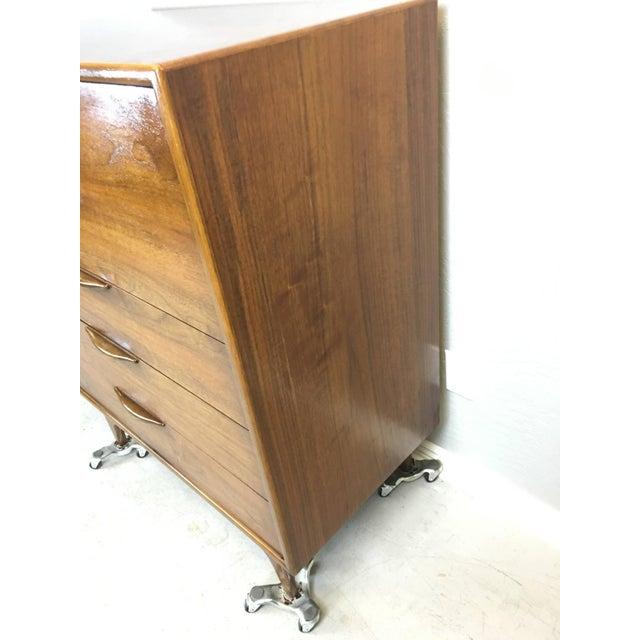 Lane Altavista Walnut Highboy Dresser - Image 2 of 4