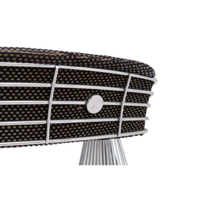 Rudi Verelst Space Age Swivel Armchairs in Chromed Steel For Sale - Image 11 of 12