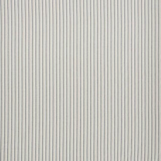 Schumacher Barbary Stripe Indoor/Outdoor Fabric in Natural For Sale
