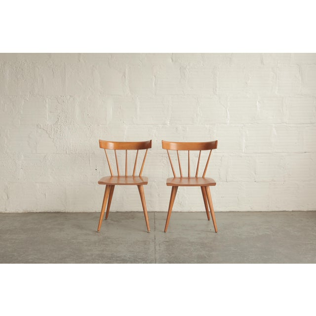 Vintage Mid Century Paul McCobb Planner Group Dining Chairs- a Pair For Sale In Portland, OR - Image 6 of 6