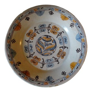 Spanish Painted Majolica Charger