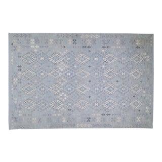 "Afghan Tribal Natural Color Hand Made Organic Wool Maimana Kilim,6'6""x10' For Sale"