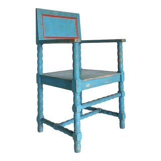 19th Century Swedish Folk Art Dala Chair