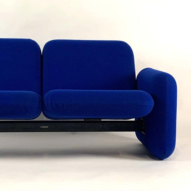 "Iconic piece nicknamed the ""Chiclet"", after the candy-coated gum, this modular sofa group's components could be taken..."