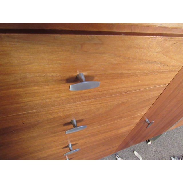Brown Paul McCobb for H Sacks and Son Modular Wall Unit For Sale - Image 8 of 12