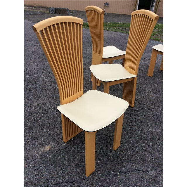 Pietro Costantini Maple Dining Chairs - Set of 6 - Image 10 of 11