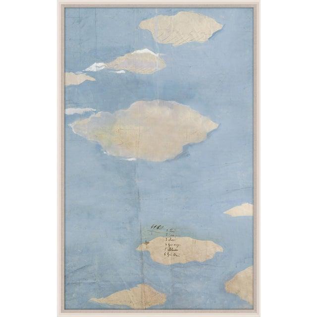 Paule Marrot, Les Nuages 4, Framed Artwork For Sale