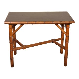 Aesthetic Movement Bamboo Table For Sale