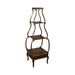 Italian Gilt Wood Louis XV Style 4 Tier Etagere