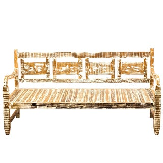 Handmade Antique Provincial Daybed For Sale