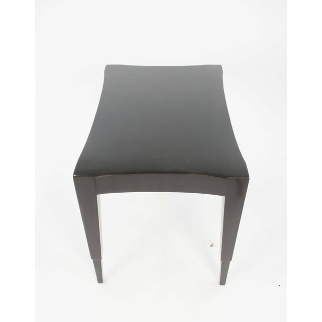 1960s Johan Tapp Dark Walnut Lacquer Lamp Table For Sale - Image 5 of 7