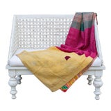 Image of Romi Bengal Kantha Throw For Sale