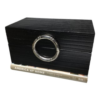 Global Views Black Jewelry Box
