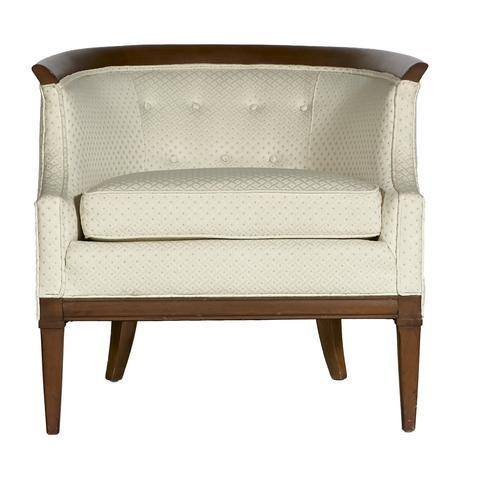 Mid-Century Modern Erwin Lambeth for Tomlinson Furniture Walnut Sculpted Lounge Chair For Sale - Image 3 of 7