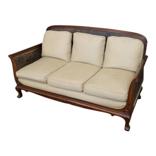 19th Century Anglo-Indian Mahogany Sofa For Sale
