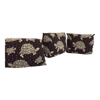 Custom Pillows With Turtles - Set of 3 For Sale