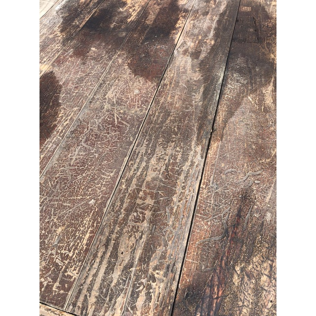 Brown Rustic Adirondack Work or Side Table For Sale - Image 8 of 13