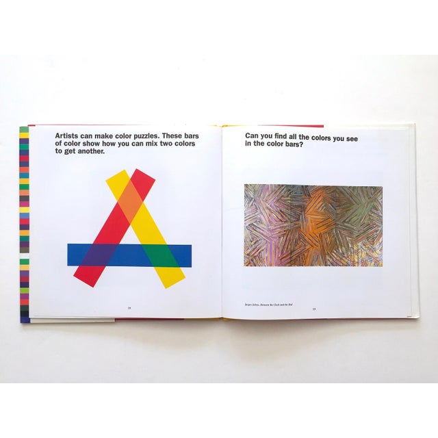 "Children's "" Colors, Shapes, Lines "" Rare Vintage 1991 1st Edition Museum of Modern Art Children's Art Books - Set of 3 For Sale - Image 3 of 12"