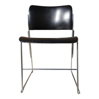 David Rowland 40/4 Stacking Chair for General Fireproofing For Sale