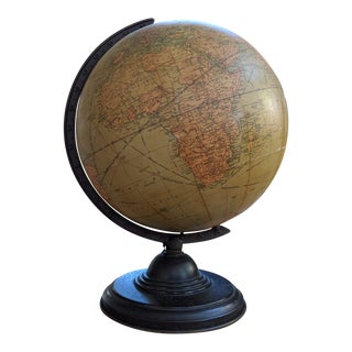1950s Replogle Globes Inc Chicago 12 Inch Liberty Globe For Sale