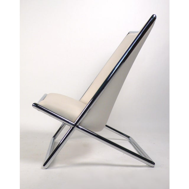1950s Scissor Lounge Chairs by Ward Bennett For Sale - Image 5 of 9