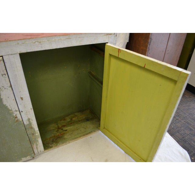 1940s Cupboard Freestanding From Mid-1900s for Hallway, Kitchen or Entranceway Storage For Sale - Image 5 of 12