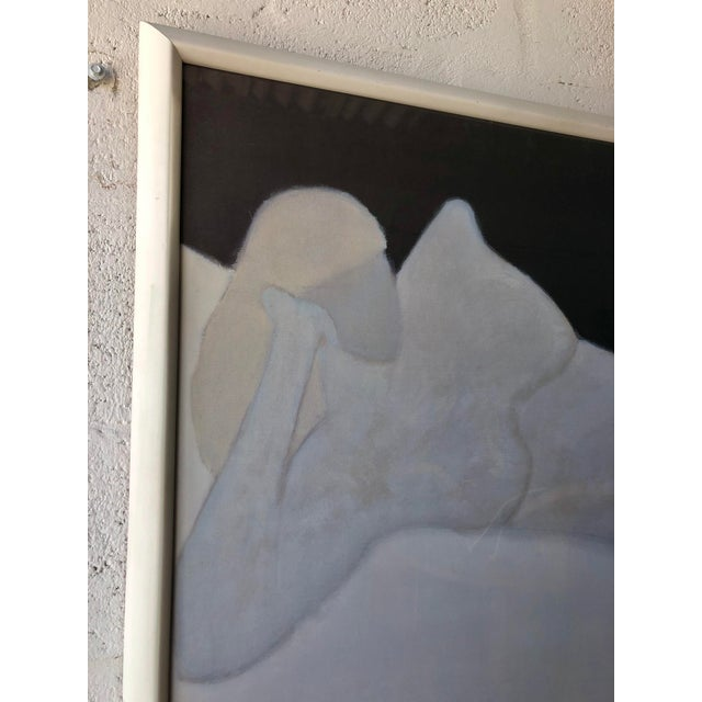 Paper Rare Milton Avery 'Reclining Blonde' Framed Lithograph Print Exhibition Poster. For Sale - Image 7 of 12