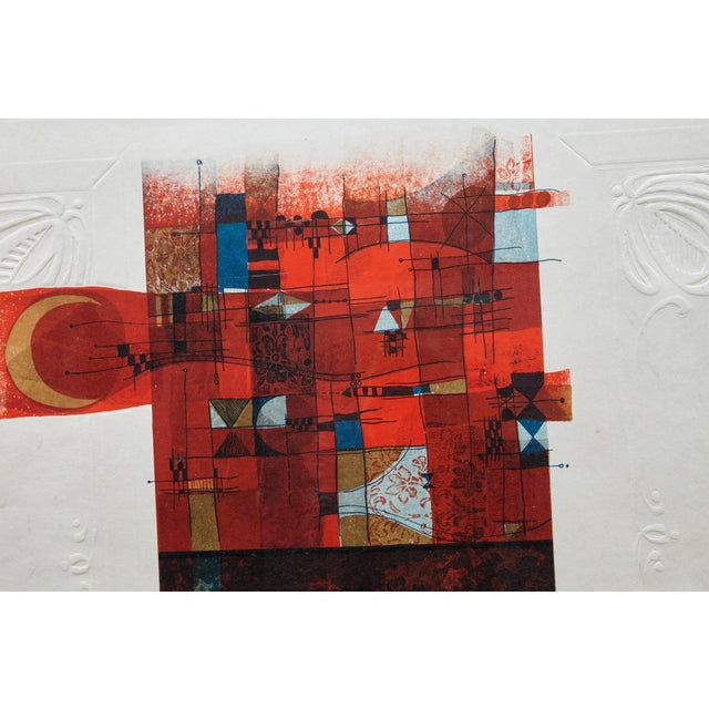 Paper Alvar Sunol Munoz-Ramos, Untitled, Signed and Numbered, # 63/80, 1980 For Sale - Image 7 of 12