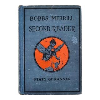 1920s Bob Merrill's Second Reader School Book For Sale