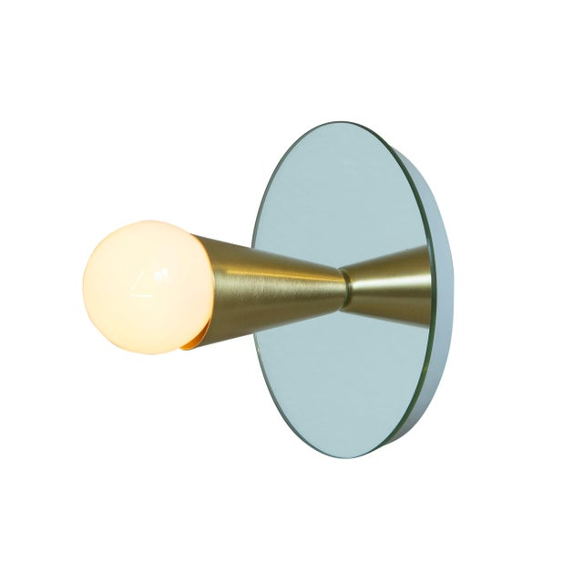 Echo 1 Sconce designed by Shaun Kasperbauer for Souda. Brand New. Assembled to order in Brooklyn Ships in 1-2 weeks...