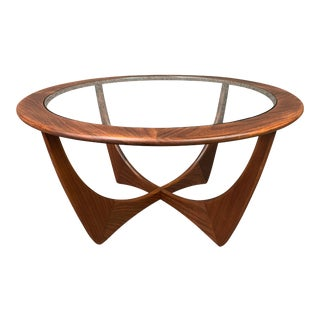 "Vintage Mid Century Modern Teak ""Astro"" Coffee Table by G Plan For Sale"