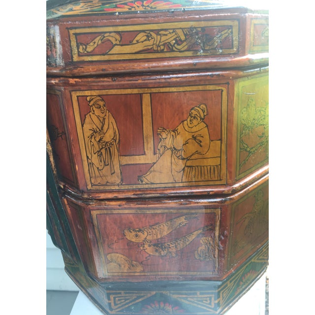 Chinese Wedding Basket For Sale - Image 11 of 12