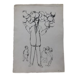"""Mid-Century Modern """"The Magician"""" by Frank Kleinholz, 1953 For Sale"""